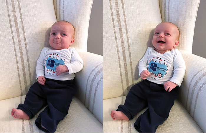 Dylan 2 months faces