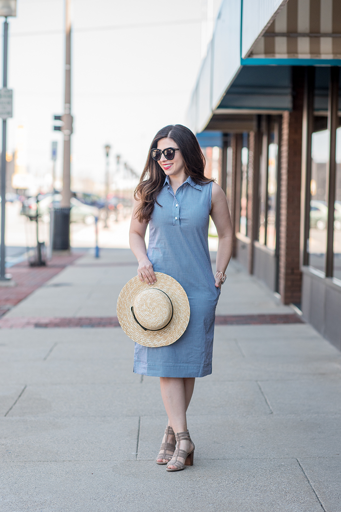 Kiki Lynn Gingham Shirtdress