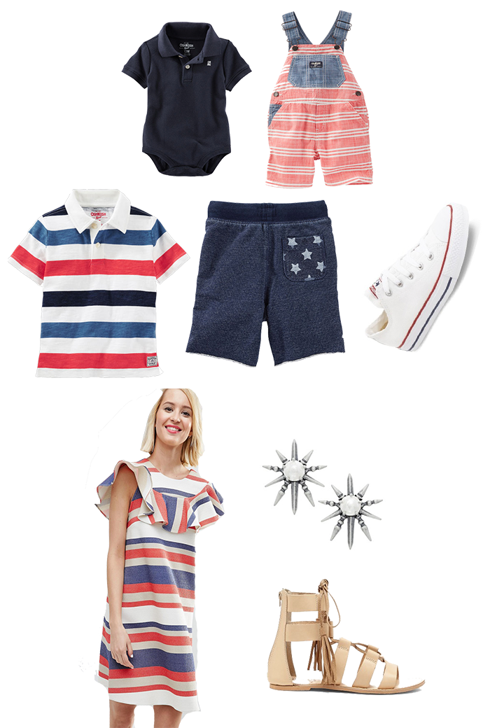Family Fourth of July Outfits_Featured