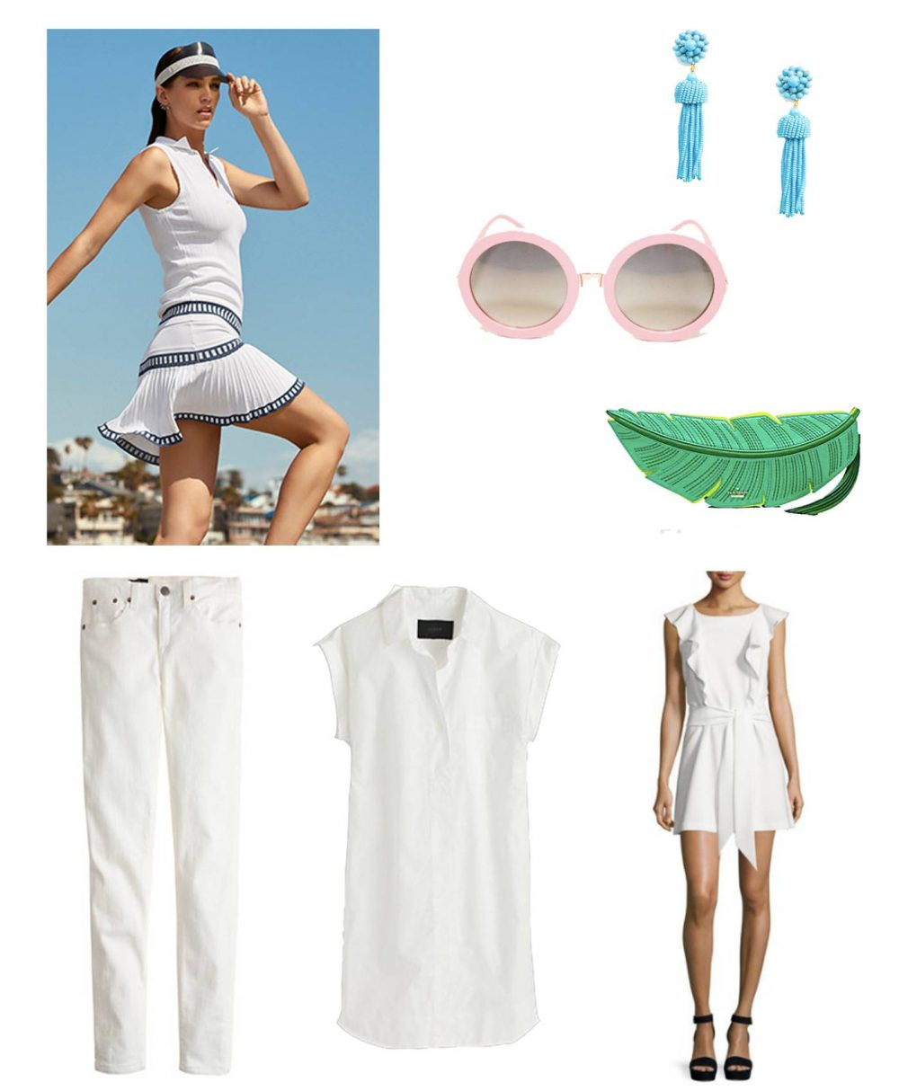 ways to wear white in the summer
