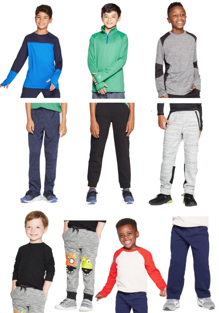 Favorite Target Boys Activewear featured by top US life and style blog, The HSS Feed.