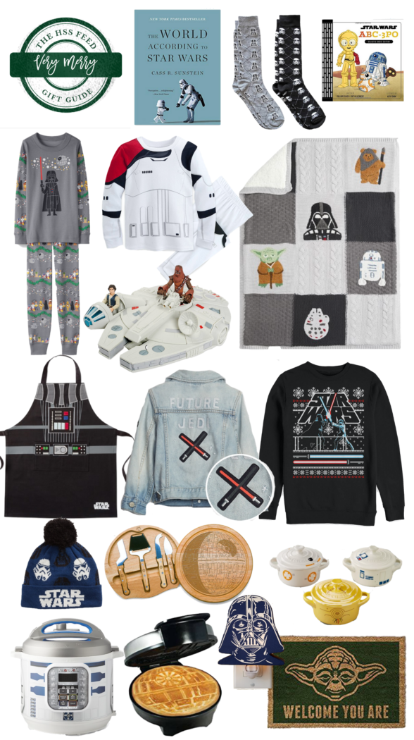 Very Merry Gift Guide: the Best Star Wars Gifts featured by top US life and style blog, The HSS Feed.