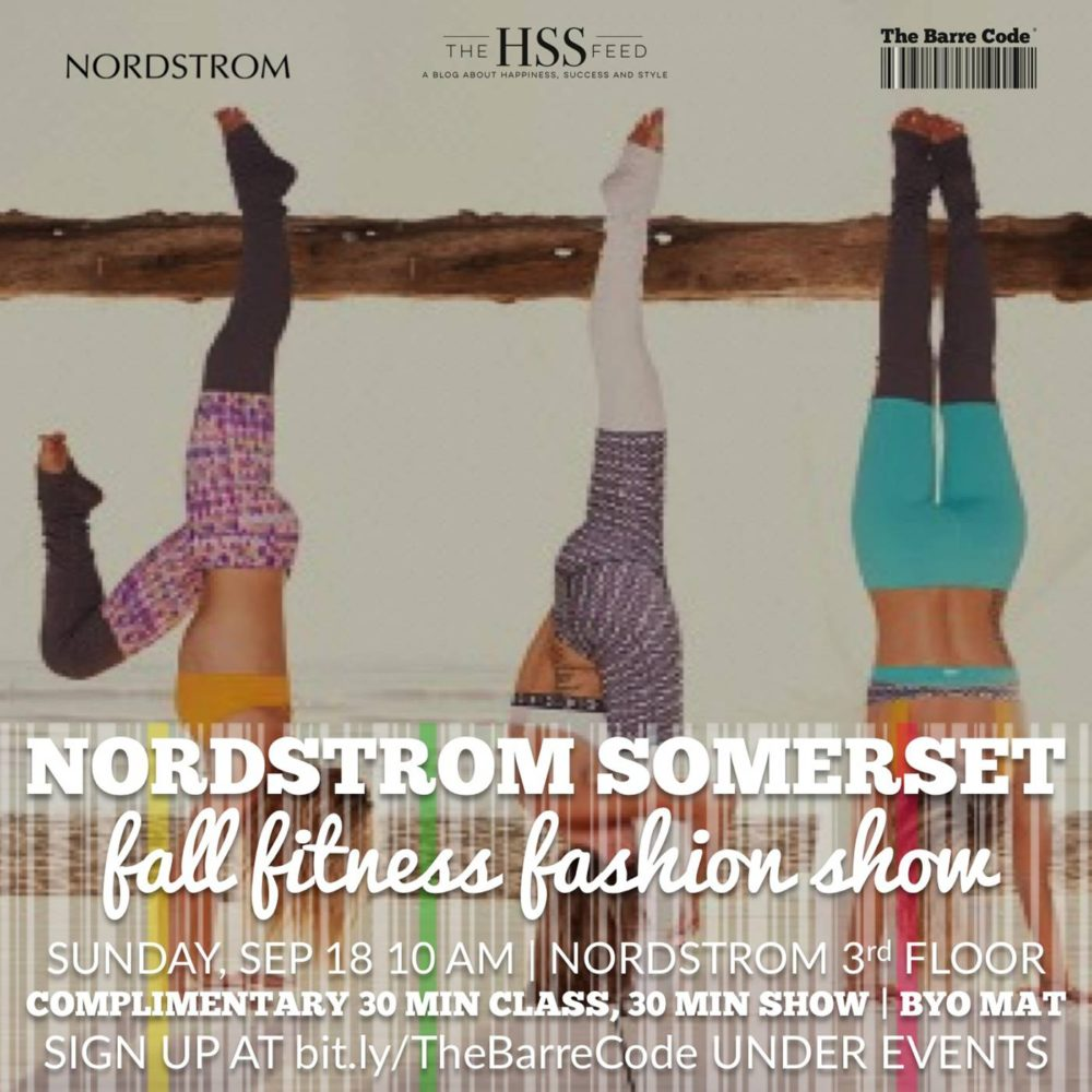 NORDSTROM Barre Code The HSS Feed