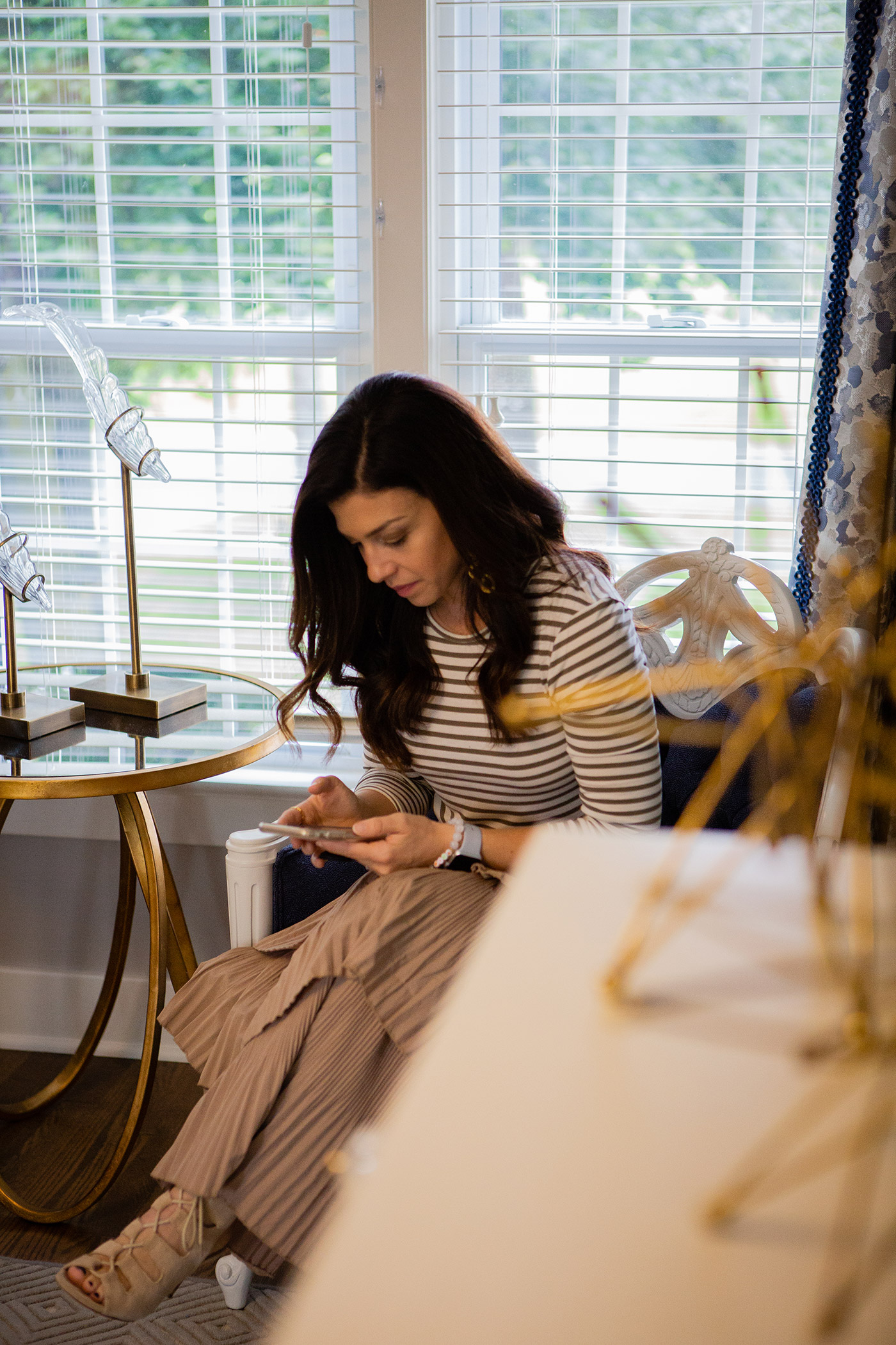 Feige's Interiors home office featured by top US lifestyle blog, The HSS Feed.
