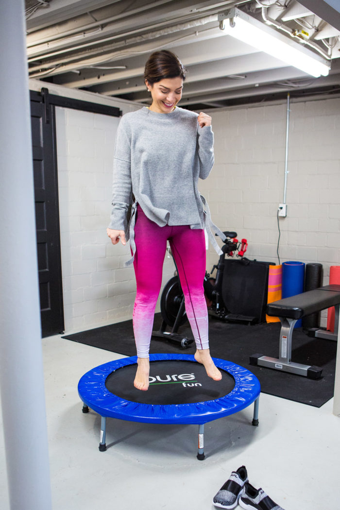 How to Start Rebounding Workouts, tips featured by top US lifestyle blog, The HSS Feed.