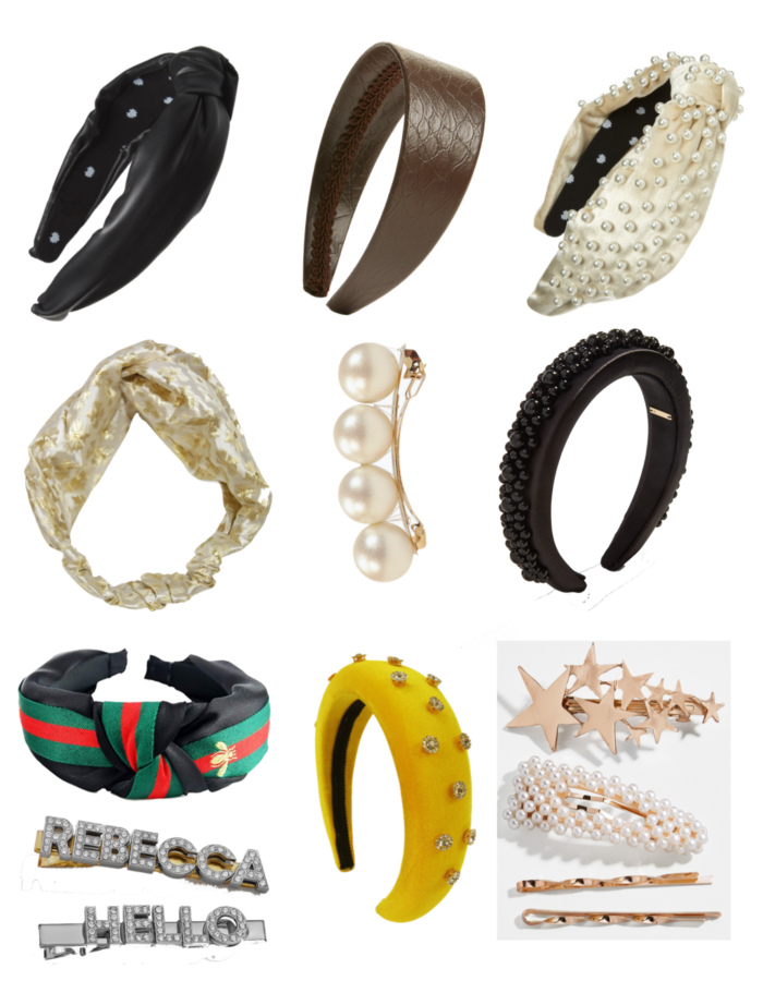 Cute Fall Hair Accessories featured by top US life and style blog, The HSS Feed: image of headbands