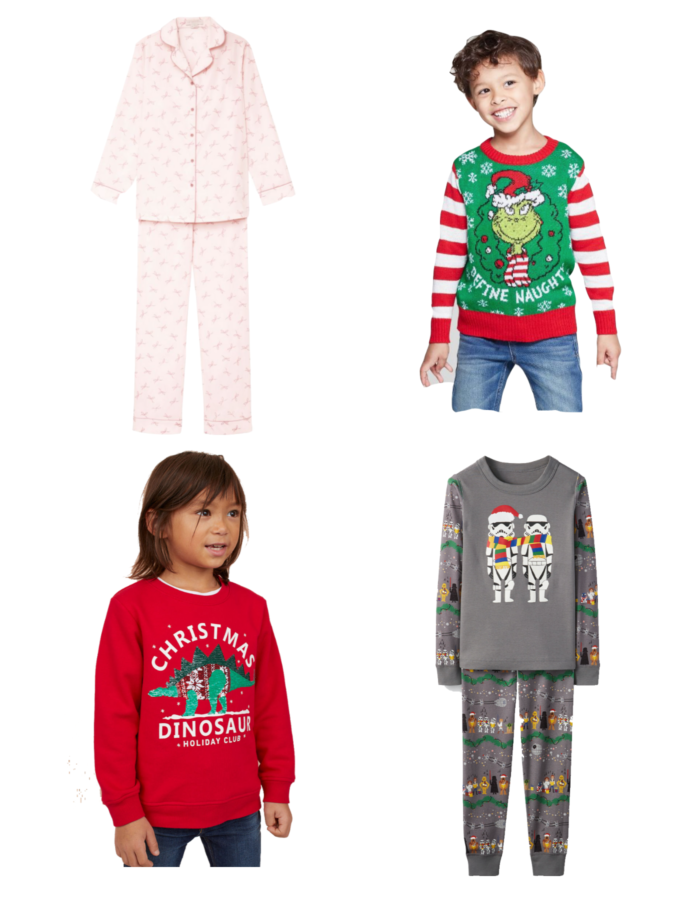 Holiday Shopping Season: cute Christmas comfy clothes for children featured by top US life and style blog, The HSS Feed.