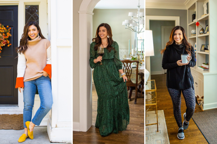 3 Cute and Trendy Thanksgiving Outfit Ideas featured by top US fashion blog, The HSS Feed.