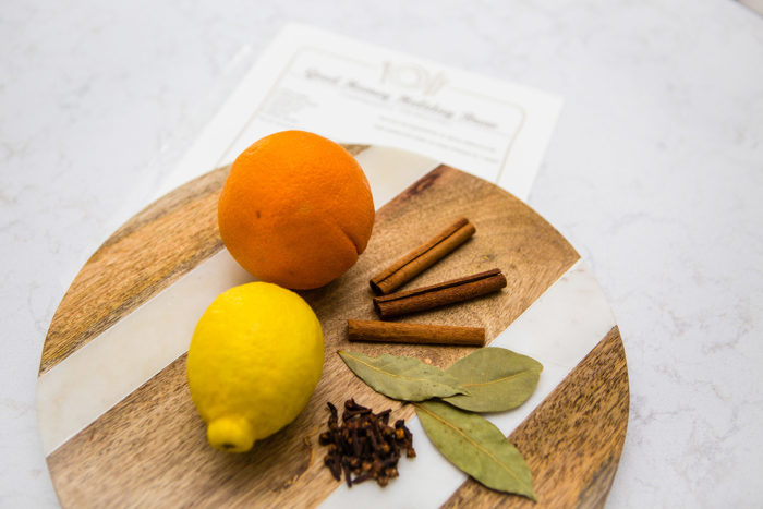 DIY Christmas Scent Recipe featured by top US life and style blog, The HSS Feed.