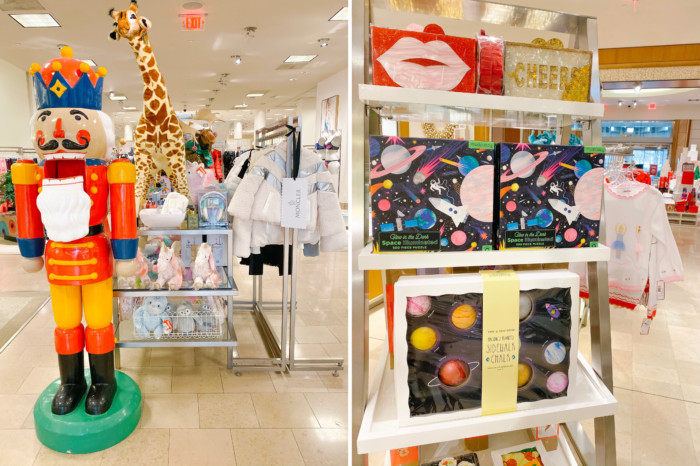 Very Merry Gift Guide: Neiman Marcus Gift Ideas for Kids by popular Michigan life and style blog, The HSS Feed: image of the Neiman Marcus kids department.