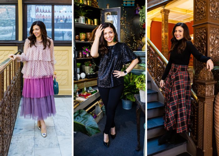 Festive Holiday Party Looks featured by top US fashion blog, The HSS Feed.